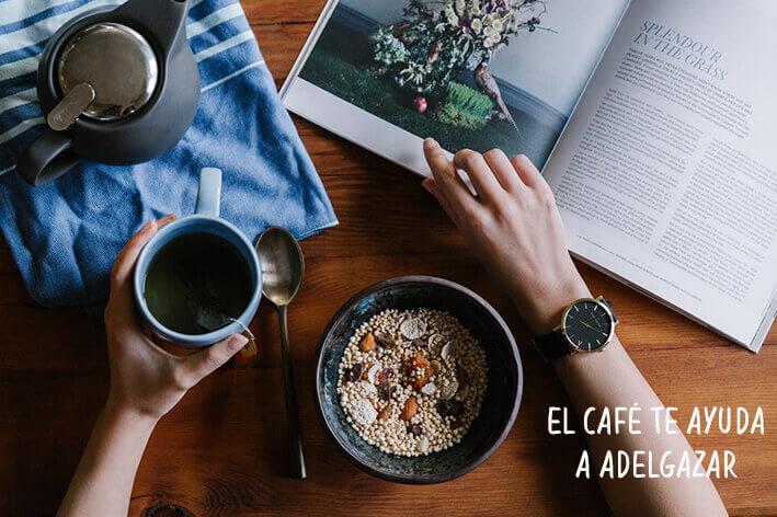 El café ayuda a adelgazar
