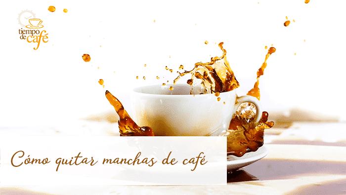 Cómo quitar las manchas de café en superficies rebeldes