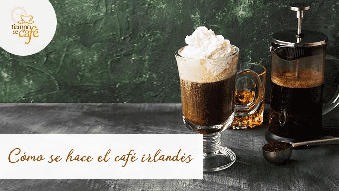Lo realmente importante para hacer café irlandés es utilizar whisky irlandés