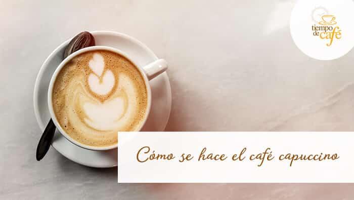 el café expresso y la leche fresca rivalizan en protagonismo en el capuccino